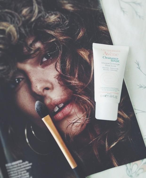 avene cleanance mask scrub sensitive oily skin
