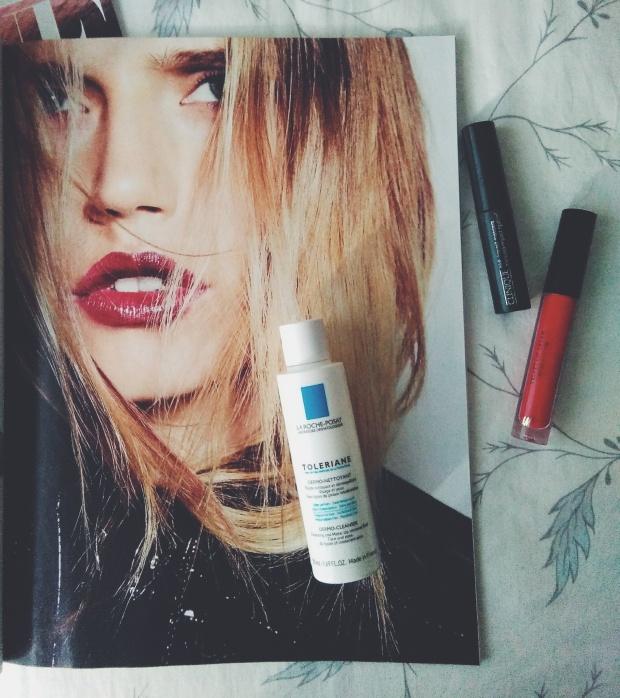 vogue makeup la roche posay clinique
