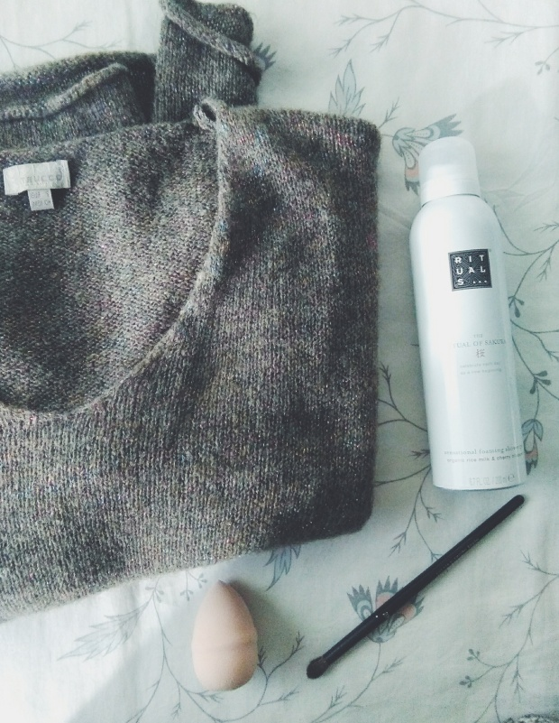 what I got for christmas rituals h&m knit