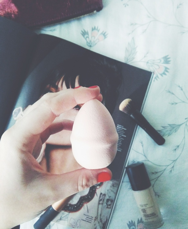 h&m beauty blender makeup