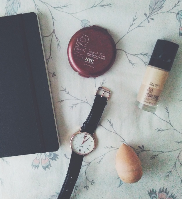 the body shop h&m bullet journal favourites