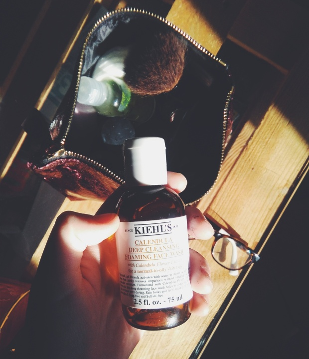 khiels calendula cleanser natural beauty