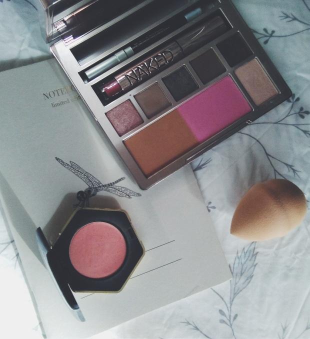 valentaine´s day makeup urban decay h&m zara