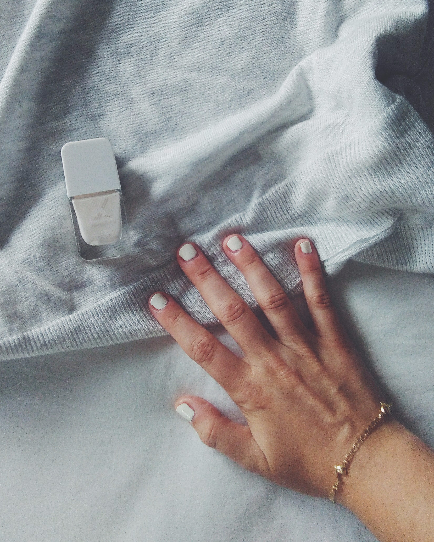 Formula X nail polish sephora white summer
