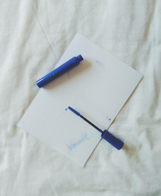 mercadona deliplus mascara de pestañas azul blue mascara