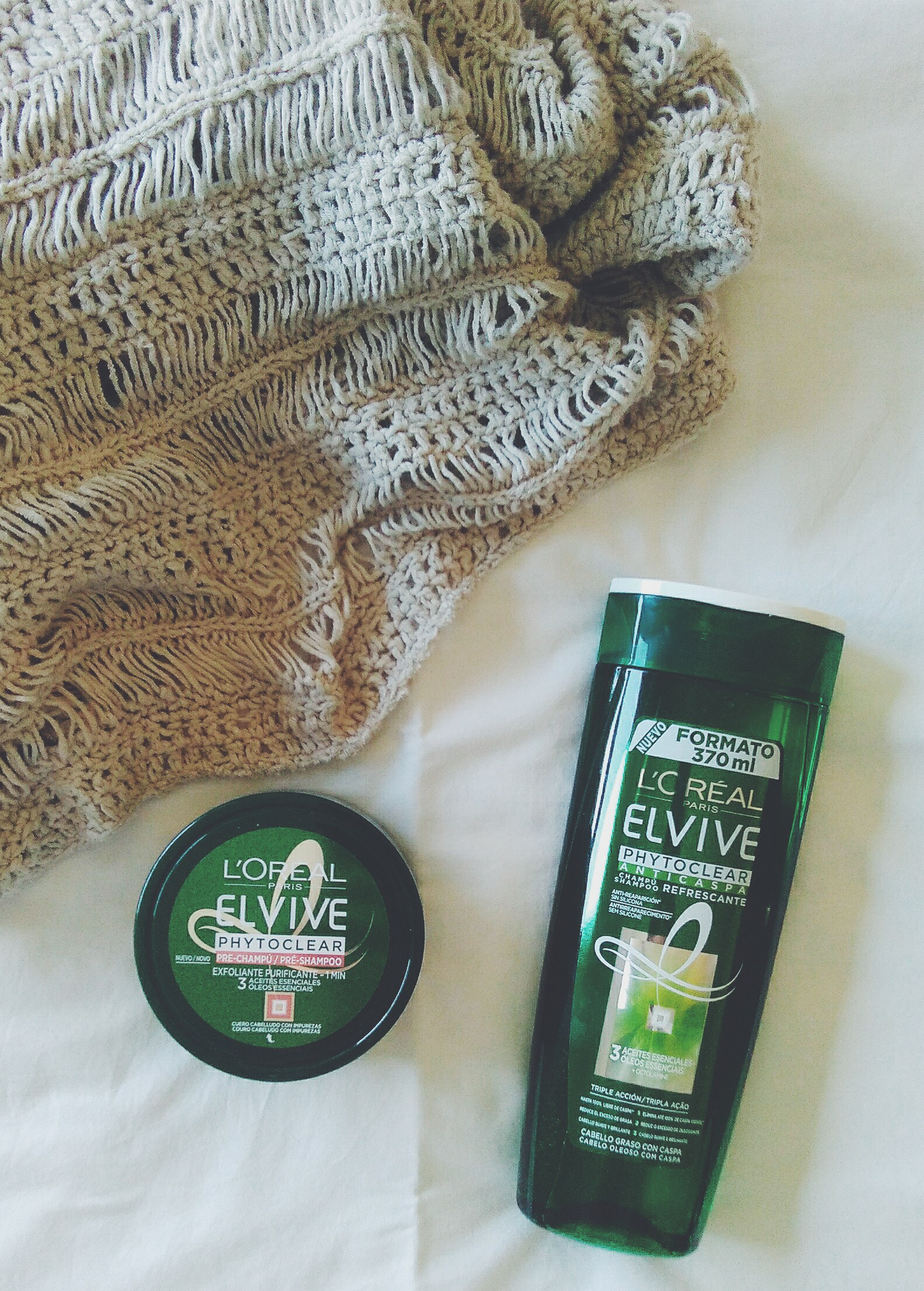 elvive loreal dandruff hair healthy