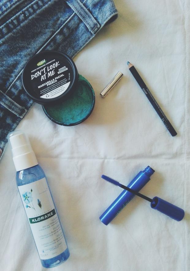 blue skincare haircare lush klorane cruelty free vegan