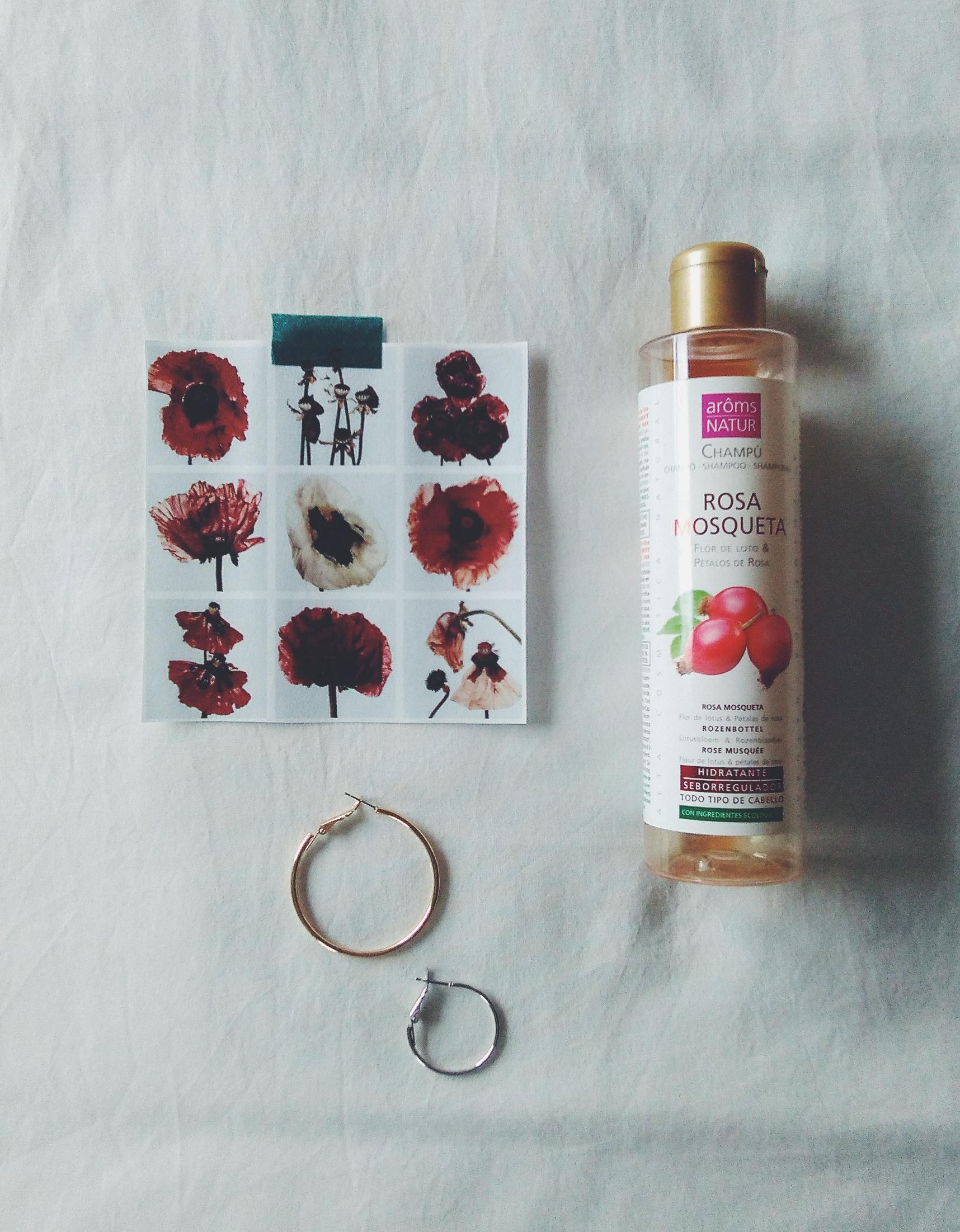 aroms nature rosehip oil shampoo