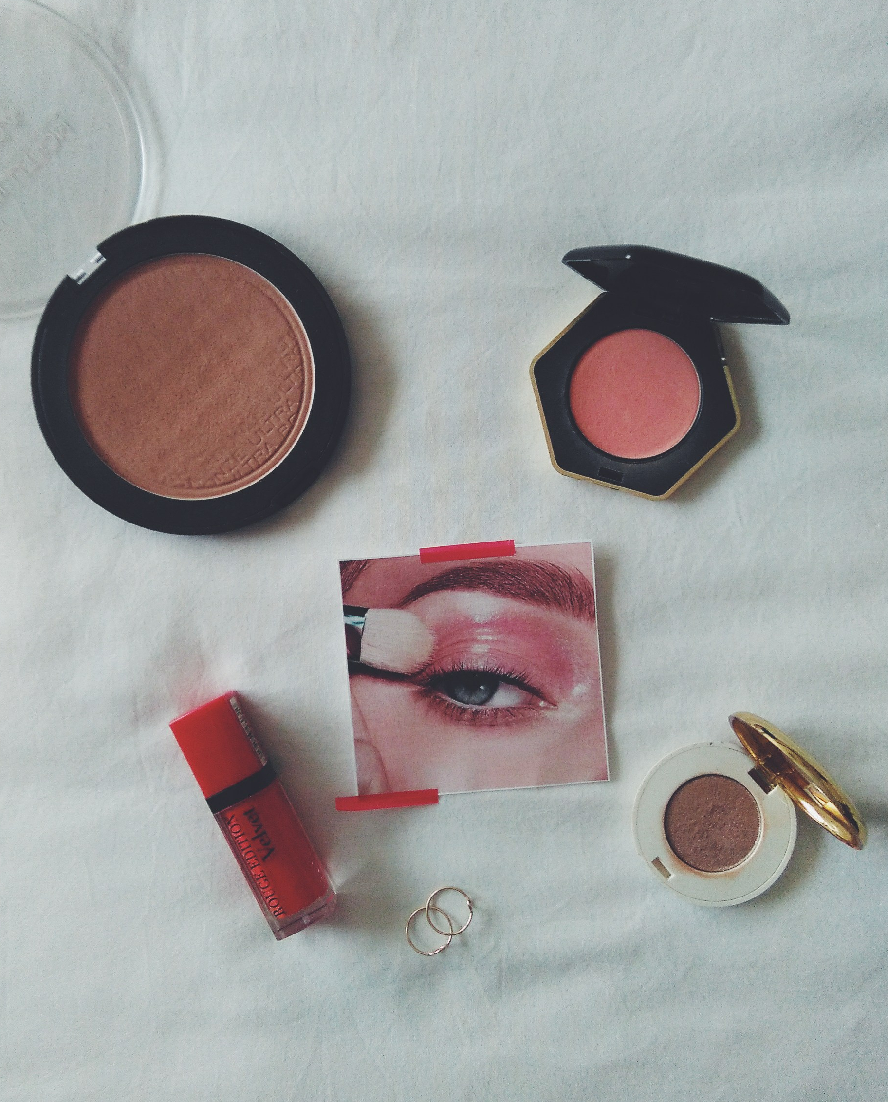 summer makeup menu