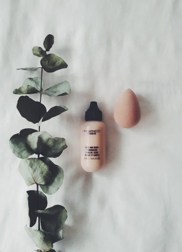 mac face and body foundation review makeup
