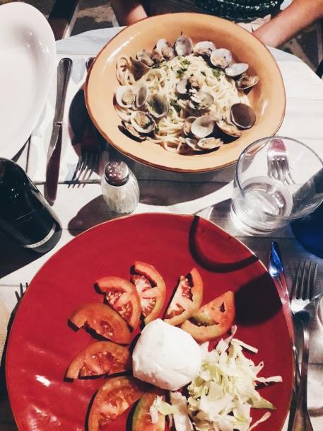 italian pasta capresse