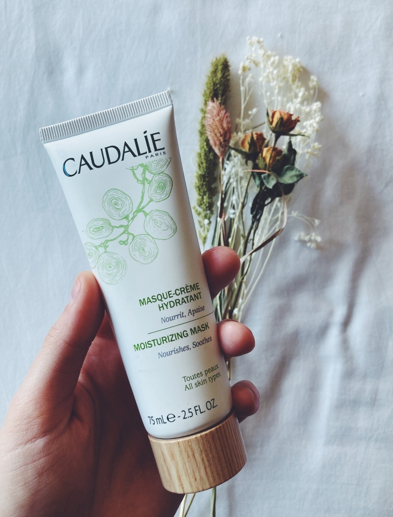 caudalie french skincare moisturizing mask